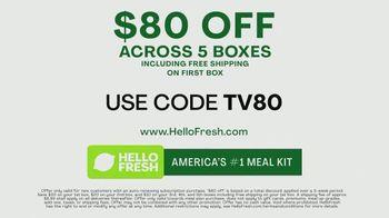 HelloFresh TV Spot, 'Become a Cook: $80 Off' - Thumbnail 8
