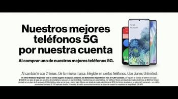 Verizon TV Spot, 'Fiestas: ahorra $500 dólares, Disney+ y PlayStation' [Spanish] - Thumbnail 4