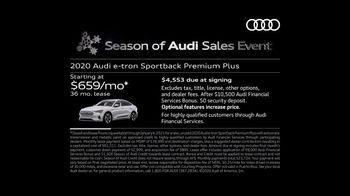 Season of Audi Sales Event TV Spot, 'Electric Has Gone Thrilling' [T2] - Thumbnail 4
