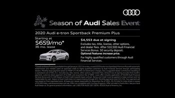 Season of Audi Sales Event TV Spot, 'Electric Has Gone Thrilling' [T2] - Thumbnail 5
