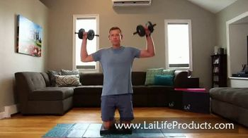 Lai Life Products TV Spot, 'Knee Pad for At-Home Workouts' - Thumbnail 6