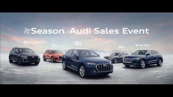Season of Audi Sales Event TV Spot, 'Snowy Road' [T2] - Thumbnail 4