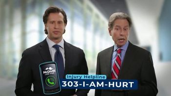 McDivitt Law Firm, P.C. TV Spot, 'Car Crash Injury'