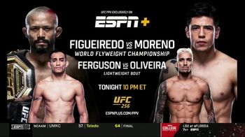 ESPN+ TV Spot, 'UFC 256: Figueiredo vs. Moreno' - Thumbnail 10