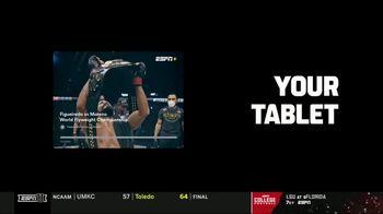 ESPN+ TV Spot, 'UFC 256: Figueiredo vs. Moreno' - Thumbnail 9