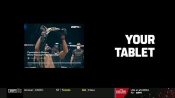 ESPN+ TV Spot, 'UFC 256: Figueiredo vs. Moreno' Song by Busta Rhymes & M.O.P. - Thumbnail 9