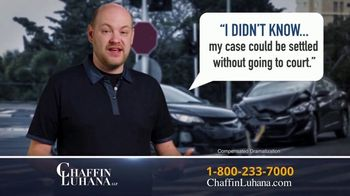 Chaffin Luhana TV Spot, 'I Didn't Know: Get Paid' - Thumbnail 3
