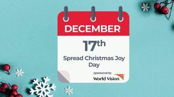 World Vision TV Spot, 'Spread Christmas Joy Day: Send Great Joy' - Thumbnail 1