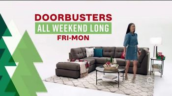 Ashley HomeStore Black Friday Weekend Sale TV Spot, 'Continued Doorbusters: Queen Bed and Sofa' - Thumbnail 3