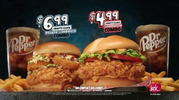 Jack in the Box Crafty Cluck Sandwich Combo TV Spot, 'Introducing' Song by Becky G - Thumbnail 7