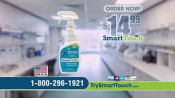 Smart Touch Multi-Surface Disinfectant TV Spot, 'Registered With the EPA' - Thumbnail 8