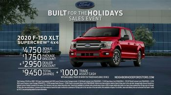 Ford Built for the Holidays Sales Event TV Spot, 'Bringing the Big Man Home' [T2] - Thumbnail 5