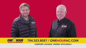 One Hour Heating & Air Conditioning TV Spot, '$134 Heating System Revitalization' - Thumbnail 1