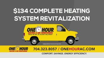 One Hour Heating & Air Conditioning TV Spot, '$134 Heating System Revitalization' - Thumbnail 9