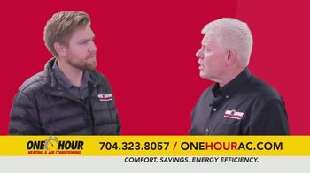 One Hour Heating & Air Conditioning TV Spot, '$134 Heating System Revitalization' - Thumbnail 2