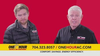 One Hour Heating & Air Conditioning TV Spot, '$134 Heating System Revitalization' - Thumbnail 3