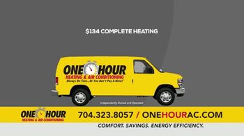 One Hour Heating & Air Conditioning TV Spot, '$134 Heating System Revitalization' - Thumbnail 8