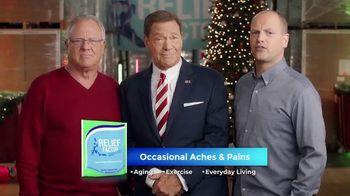 Relief Factor 3-Week Quickstart TV Spot, 'Merry Christmas: Best Gift' Featuring Joe Piscopo - 35 commercial airings