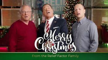 Relief Factor 3-Week Quickstart TV Spot, 'Merry Christmas: Best Gift' Featuring Joe Piscopo - Thumbnail 2