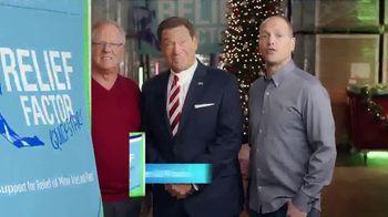 Relief Factor 3-Week Quickstart TV Spot, 'Merry Christmas: Best Gift' Featuring Joe Piscopo - Thumbnail 8