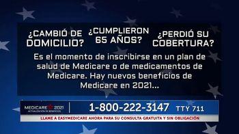 easyMedicare.com TV Spot, 'Beneficios del 2021' [Spanish] - Thumbnail 3