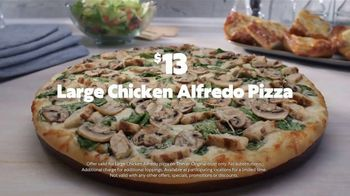 Papa Murphy's Chicken Alfredo Pizza TV Spot, 'Where the Fun Is: $13' - Thumbnail 8
