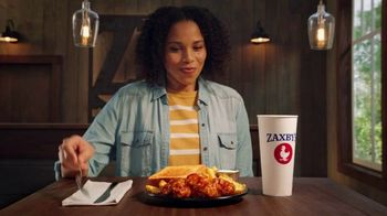 Zaxby's General Tso's Boneless Wings TV Spot, 'What's in the Sauce?: Triangles' - Thumbnail 1
