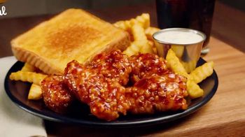 Zaxby's General Tso's Boneless Wings TV Spot, 'What's in the Sauce?: Triangles' - Thumbnail 7