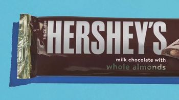 Hershey's Milk Chocolate With Whole Almonds TV Spot, 'Delightful Bumps' - Thumbnail 2