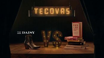 Tecovas TV Spot, 'The Daisy vs. Self Help Books'