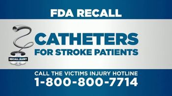 Parker Waichman TV Spot, 'Attention Stroke Patients: Catheter Recall' - Thumbnail 3