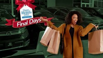 Happy Honda Days Sales Event TV Spot, 'Retail Therapy' [T2] - Thumbnail 2
