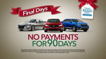 Happy Honda Days Sales Event TV Spot, 'Retail Therapy' [T2] - Thumbnail 3