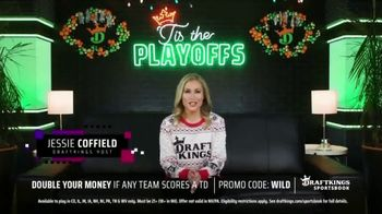 DraftKings Sportsbook TV Spot, 'NFL Playoffs: Double Your Money'