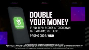 DraftKings Sportsbook TV Spot, 'NFL Playoffs: Double Your Money' - Thumbnail 7