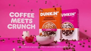 Dunkin' Cereal TV Spot, 'Introducing' - 159 commercial airings