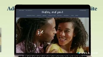 Zola TV Spot, 'Easy Wedding Planning from Home'