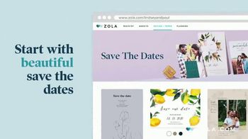 Zola TV Spot, 'Easy Wedding Planning from Home' - Thumbnail 3