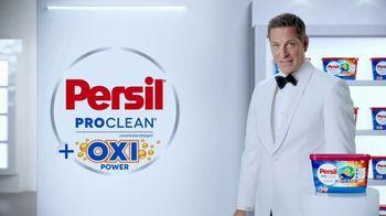 Persil ProClean OXI Power Discs TV Spot, 'Descubre una limpieza profunda' con Peter Hermann [Spanish]