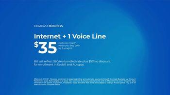 Comcast Business TV Spot, 'Resolutions: Internet + 1 Voice Line for $35 a Month' - Thumbnail 9