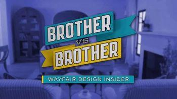Wayfair TV Spot, 'HGTV: Brother vs. Brother Design Insider: Backyard Pool Area' - 2 commercial airings
