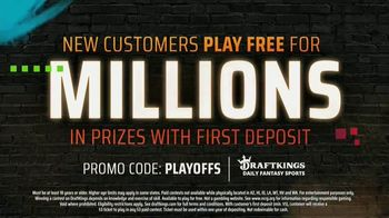 DraftKings TV Spot, 'NFL Playoffs: Play Free for Millions' - Thumbnail 10