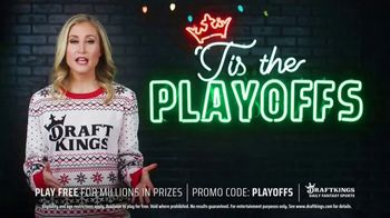 DraftKings TV Spot, 'NFL Playoffs: Play Free for Millions' - Thumbnail 4