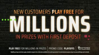 DraftKings TV Spot, 'NFL Playoffs: Play Free for Millions' - Thumbnail 5