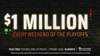 DraftKings TV Spot, 'NFL Playoffs: Play Free for Millions' - Thumbnail 6