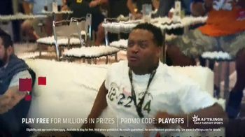 DraftKings TV Spot, 'NFL Playoffs: Play Free for Millions' - Thumbnail 7