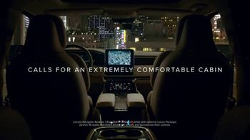 Lincoln Motor Company TV Spot, 'Comfort in the Extreme: Noise' [T1] - Thumbnail 6