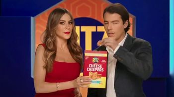 Ritz Crackers Cheese Crispers TV Spot, 'Couch' Featuring Sofia Vergara