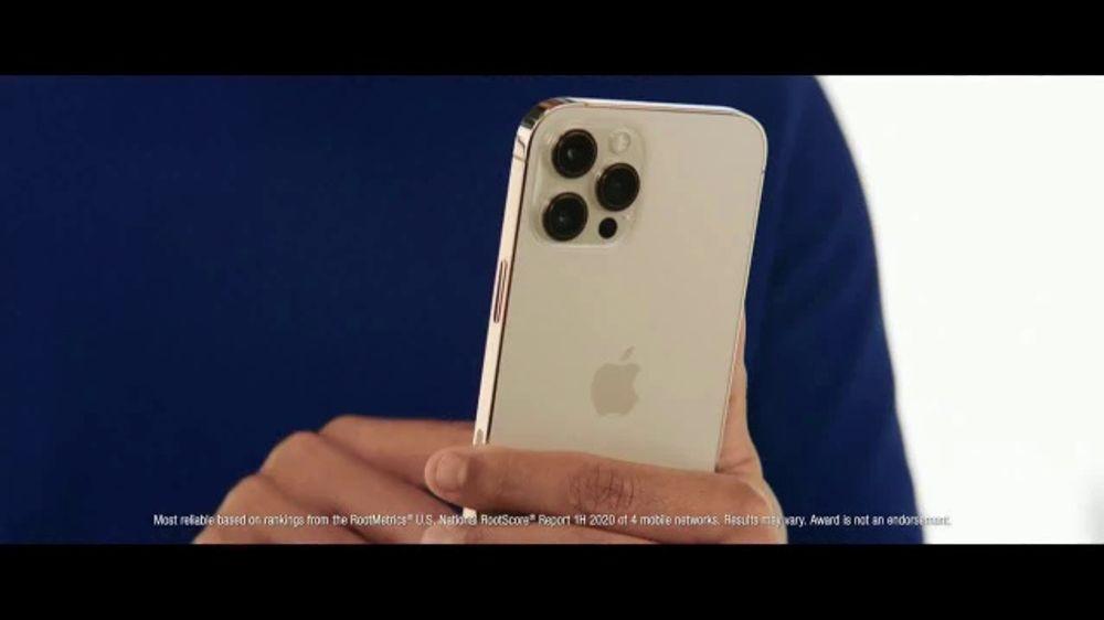 Verizon TV Commercial, 'Start 2021 Right: iPhone 12 Pro ...