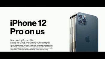 Verizon TV Spot, 'Start 2021 Right: iPhone 12 Pro' - Thumbnail 9